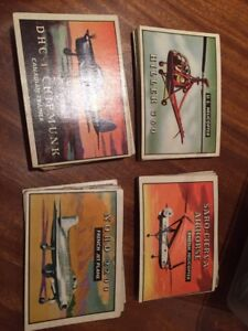 Vintage Airplane TOPPS collectable cards