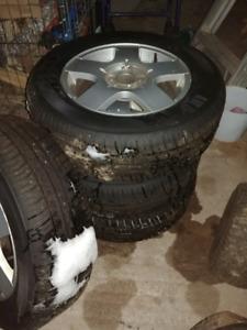 4 brand new all season tires on rims