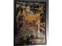 Jumbo Oversized Pikachu EX Pokémon trading card