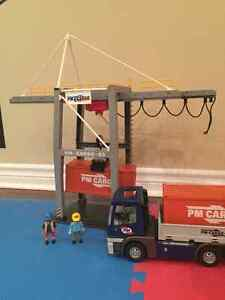 Playmobil Loading Terminal and Cargo Truck with container Oakville / Halton Region Toronto (GTA) image 1