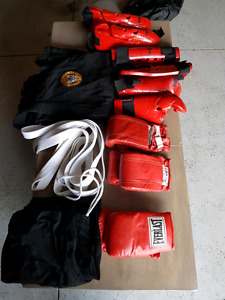 Hapkido sparring equipment and gi