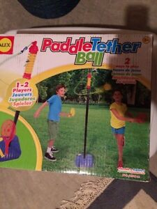 New Paddle Tether Ball Set still in box
