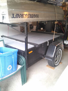 9Ft Harbercraft Boat with Trailer