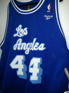 Los Angeles NBA jersey - West 44