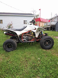TRX450 MX ready for trade (street legal only)