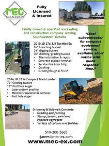 Excavator and skidsteer service available Sarnia Sarnia Area image 4