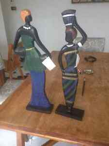 African-inspired accent statues London Ontario image 3