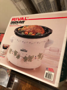 RIVAL 6 QUART SLOW COOKER