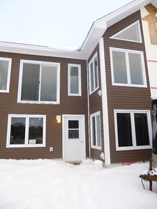 brand new chalet style cottage overlooking bonne bay pond