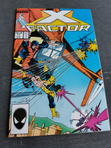 X-Factor #17, First appearance of Rictor!