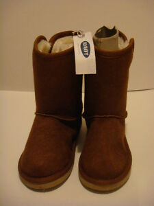 New Toddler Girl Size 9 Old Navy Brown Boots