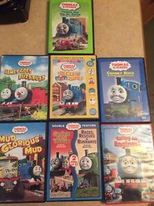 Thomas the train dvd's