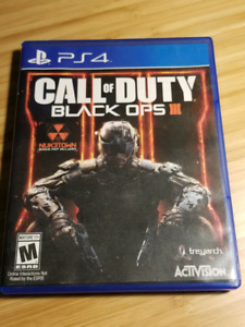 Call of Duty -Black Ops 3  for PS4 for sale!