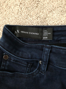 A|X ARMANI EXCHANGE SUPER STRETCH JEAN