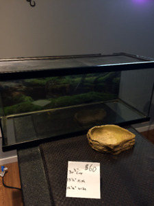 Reptile or Amphibian Terrarium for sale
