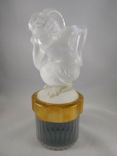 LALIQUE LE FAUNE CRYSTAL FACTICE - BEAUTIFUL  BEST PRICE!!
