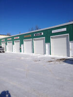 Commercial heated work bays or storage fenced secure  Arnprior