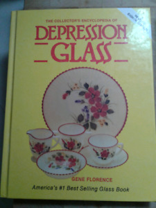 BOOKS- Two Depression Glass Collector Books