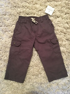 12 mth Carters pants - new with tags