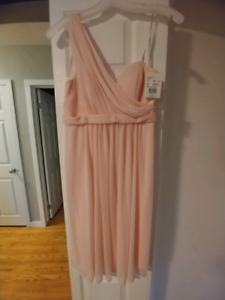 David's Bridal Bridesmaid Dress - Petal