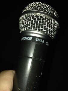 Shure SM 58 microphone for sale