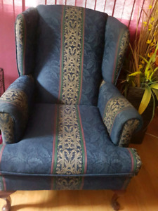 Beautiful wing chair for living room