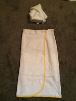 Stage Costume-Wrap around bath towel and head towel with velcro