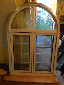 Arch Transom Casement Window