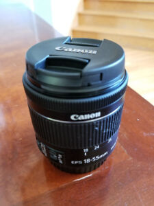New Zoom Canon 18-55mm & 75-300mm Neuf!