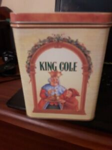 king cole tea container
