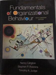Fundamentals of Organizational Behaviour Fifth Canadian Edition