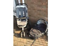 Quinny buzz black and graphite travel system - excellent condition