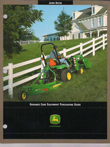 JD grounds equipment guide 2003