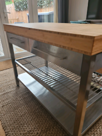 Ikea Kitchen Island/Work bench