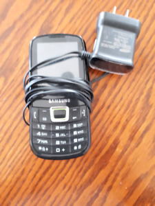 Samsung Phone with Charger