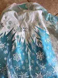 Elsa dress costume size 5-6 Disney store Hespler Frozen Cambridge Kitchener Area image 1