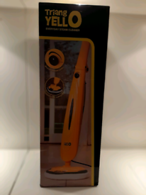 Triangle Yellow Steam Mop