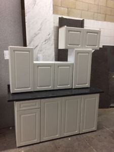 7 pc kitchen cabinet and countertops for sale $850