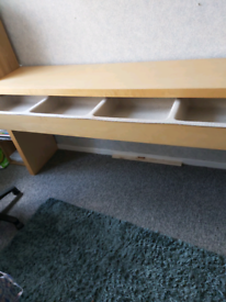 Long desk with draw