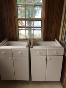 Kitchen base cabinets $60