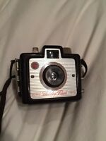 Vintage brownie holiday flash camera