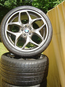 """21"""" BMW X5,X6 Ferric Grey factory OEM style 215 wheels and tires"""