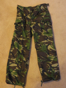 British Army DPM Camo Pants Surplus - Like New - Airsoft