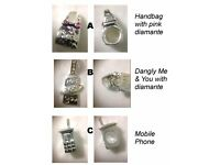925 Sterling Silver Pandora-Style Bead Charm (choice - £4 each)