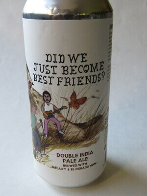 Craft Beer Can ~ GREAT SOUTH BAY Brewery Hoof Hearted We Best Friends Double (Best Ipa Craft Beer)
