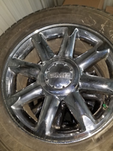 USED FEDERAL HIMILAYA INVERNO STUDDED TIRES WITH WHEELS