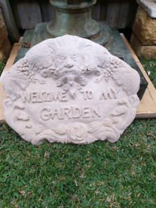 Gorgeous Large Garden Wall Plaque