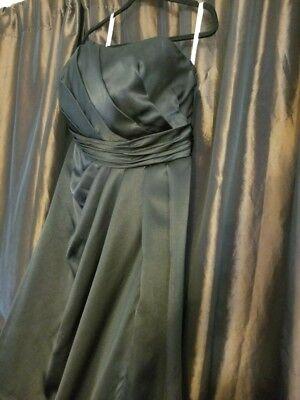 Davids Bridal Black Dress Size 16 Formal Dress Strapless Gown