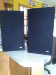 JVC 3 WAY SPEAKERS $60FOR THE PAIR