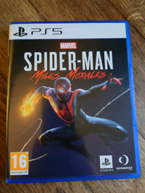 Spider-man Miles morales..PS5
